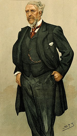 William MacCormac - McCormac caricatured for Vanity Fair, 1896