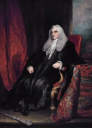 William Scott, 1st Baron Stowell - Lord Stowell. (William Owen)