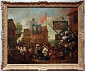 William hogarth, la fiera di southwark, 1733, 01.jpg