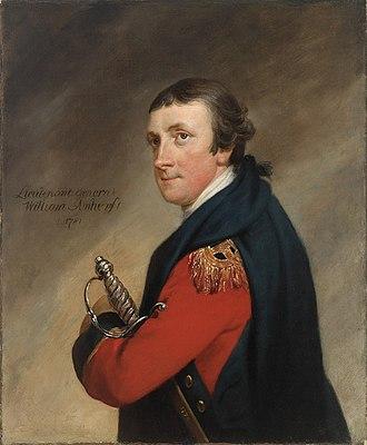 William Amherst (British Army officer) - Lieutenant General William Amherst