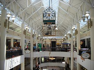 Willow Grove Park Mall - A view of the mall from the third floor near The Grove food court