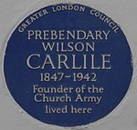 Wilson Carlile 34 Sheffield Terrace blue plaque.jpg