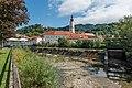 Wolfsberg Ansicht Altstadt mit Stadtpfarrkirche und Schloss 26082015 7011.jpg