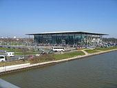 Lo stadio del Wolfsburg, denominato Volkswagen-Arena