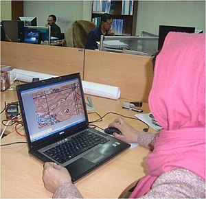 Internet in Afghanistan - Internet users at the Polytechnical University of Kabul in Afghanistan
