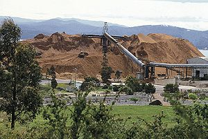 Port of Eden - Image: Woodchips for export in New South Wales