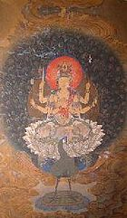 孔雀王_孔雀明王 - Wikipedia