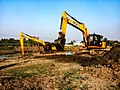 Work of renovation is going on from the river Jamuna (West Bengal) - 002.jpg