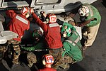Working for the launch aboard the USS Ronald Reagan DVIDS120489.jpg