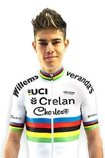 Wout van Aert Belgian cyclist