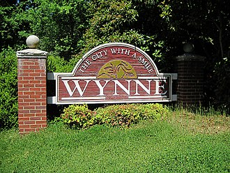 """Wynne, Arkansas - """"The City with a Smile"""""""