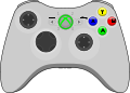 Xbox360 gamepad.svg