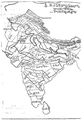 Xuanzang route in India-7thcentury-Telugu.png