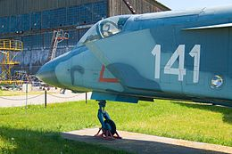 Yakovlev Yak-141 @ Central Air Force Museum.jpg