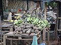 Yam and Banana in the market in Côte d'Ivoire (1).JPG