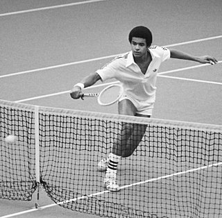 Yannick Noah French tennis player and pop singer