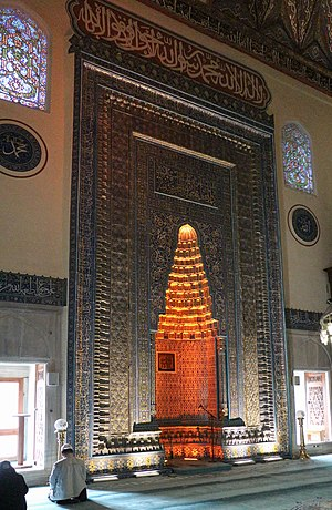 Green Mosque (Bursa) - Mihrab of the Mosque