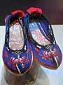 Yi female shoes - Yunnan Provincial Museum - DSC02138.JPG