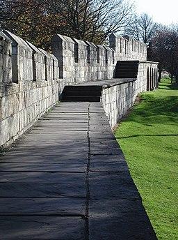 York City Walls - geograph.org.uk - 608486