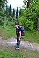 Young Trekker on Mukeshpuri.JPG