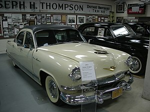 Kaiser Dragon - A 1953 Kaiser Dragon at the Ypsilanti Automotive Heritage Museum in 2013