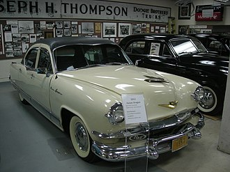 Kaiser Dragon - A 1953 Kaiser Dragon at the Ypsilanti Automotive Heritage Museum in 2013