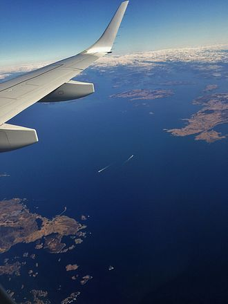 Boknafjord - Aerial view of the fjord