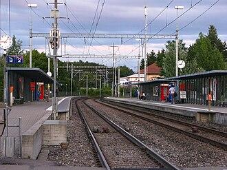 S6 (ZVV) - Zürich Affoltern railway station.
