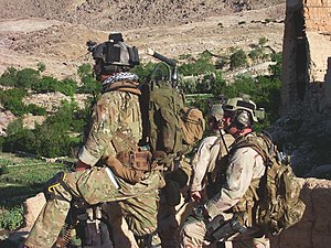 Zachary Rhyner - Zachary Rhyner and Army Special Forces soldiers of ODA 3336 in the Shok Valley prior to the battle