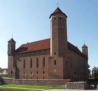 Ignacy Krasicki - Castle of the bishops of Warmia at Lidzbark Warmiński