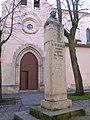 Zamora - Convento de Santa Marina (Clarisas) y Monumento a Fray Diego de Deza.jpg