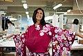 Zana trying on Kimono.jpg