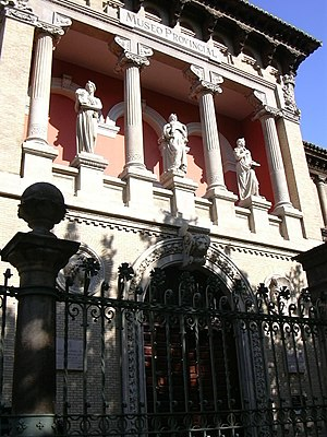 Hispano-French Exposition of 1908 - Facade of the Provincial Museum