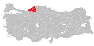 Zonguldak Subregion Subregion in West Black Sea, Turkey