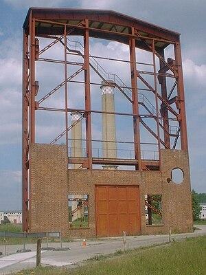 Zschornewitz - Industrial memorial – Zschornewitz Power Station.