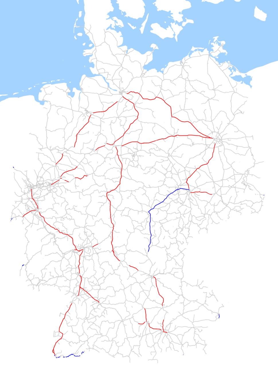 Zugbeeinflussungssysteme in Deutschland, Dezember 2017