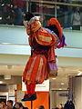 Zwarte Pieten in de Bijenkorf te Amsterdam pic1.JPG