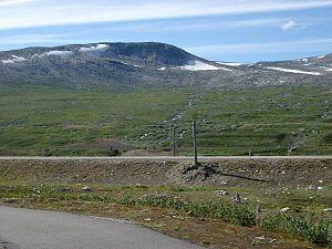 Saltfjellet - Image: Zwischen Narvik & Mo i Rana Polarkreis Norwegen