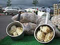 """Balls of flour"", Omagh Market - geograph.org.uk - 524124.jpg"