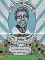 """""""In Loving Memory Ms. Justine Bonner"""" mural (2016; Julie Ann Horton, artist), 1200 Mosher Street, Baltimore, MD 21217 (28348711928).jpg"""