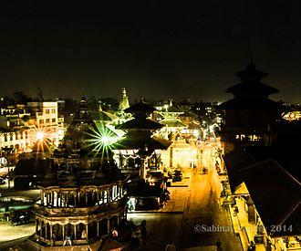 Patan Durbar Square - Patan Durbar Square in 2014