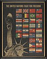 """""""THE UNITED NATIONS FIGHT FOR FREEDOM"""" - """"OWI Poster No. 19. Additional copies may be obtained upon request from the Division of Public Inquires, Office of War Information, Washington, D. C.""""- 49651767253 1286311f19 o.jpg"""