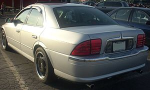 '00-'02 Lincoln LS V8 Rear (Orange Julep).jpg