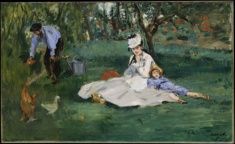 File:Édouard Manet --The Monet Family in Their Garden at Argenteuil.jpg
