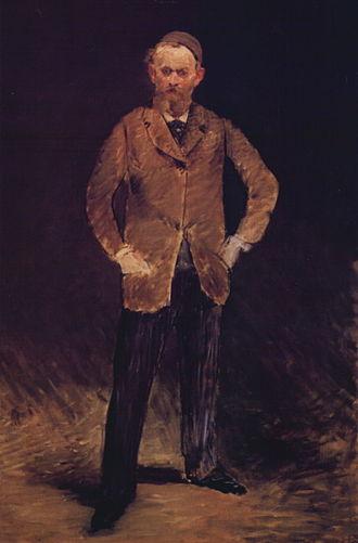 Self-Portrait with Palette (Manet) - Self- Portrait with Cap (1878/79), Bridgestone Museum of Art, Tokyo