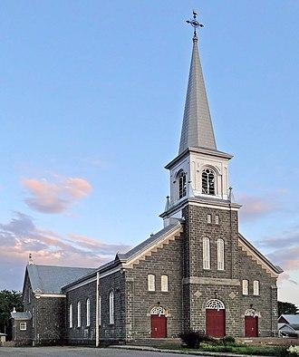 Portneuf, Quebec - Notre-Dame-des-Sept-Douleurs Church