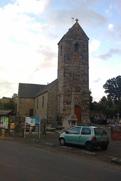 Église Saint-Martin de fr:Plomb (Manche)