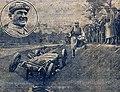 Épave de la voiture d'Antonio Ascari, au GP de l'AC.F. 1925.jpg