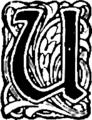 Żywoty św. Pańskich na wszystkie dnie roku-Inicjał-U.png