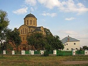Ovruch - Image: Василівська церква і монастирські споруди
